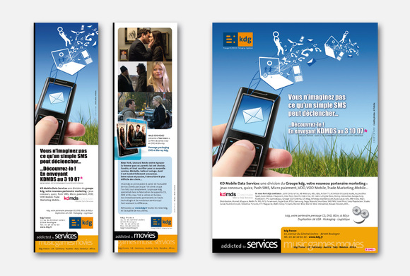 Publicités, annonces presse, affiches