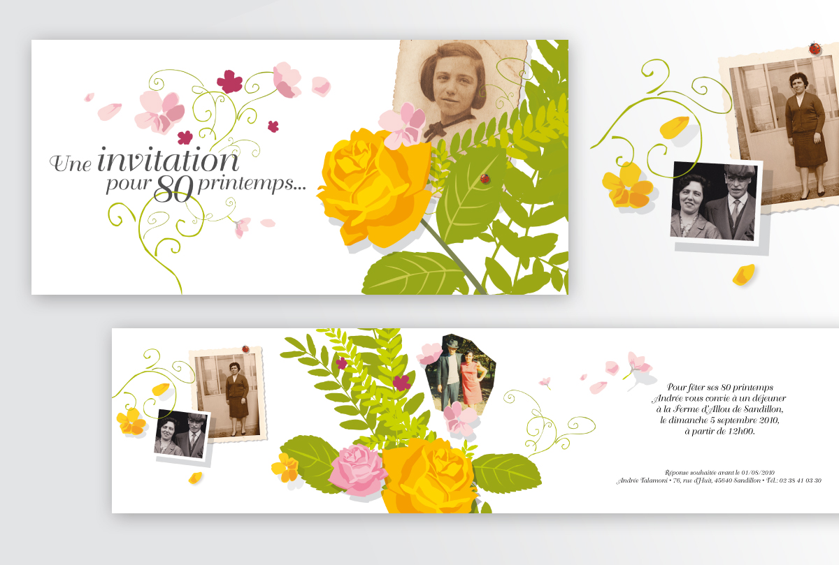 invitations  cartons